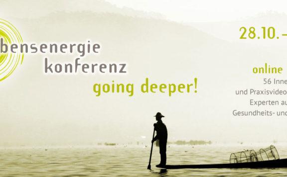 Die Lebensenergie Konferenz - Dein Zugang zu mehr Energie, Gesundheit und Lebensfreude