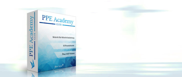 PPE Academy Club - Online Marketing Lernplattform - Oliver Lorenz