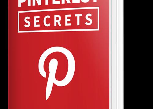 Pinterest Secrets Ebook - mehr Traffic für deine Webseite