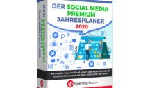 Social Media Premium Jahresplaner 2020